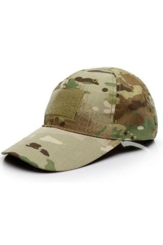 Sapca barbati Game Tactical Cap Camo Verde Inchis