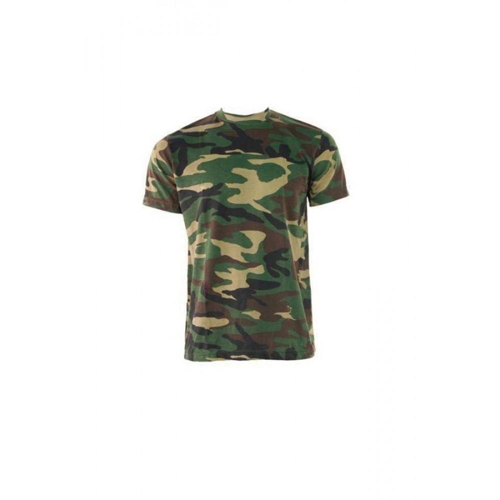 Tricou barbati Game Tehnical Apparel SS Tshirt Woodland Verde
