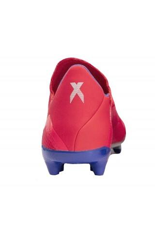 Ghete fotbal barbati  Adidas X 18.3 FG Rosu