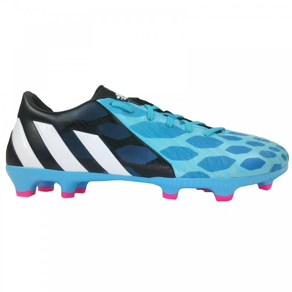 Ghete fotbal copii Adidas Predator Absolado FG Albastru