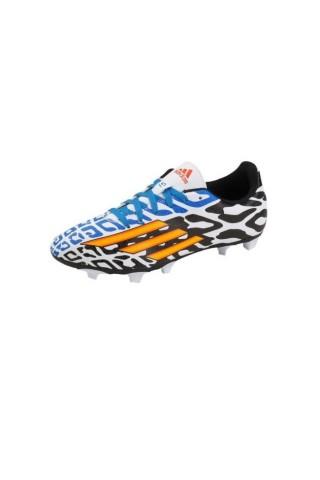 Ghete fotbal copii Adidas Messi F5 TRX FG J Negru/Albastru