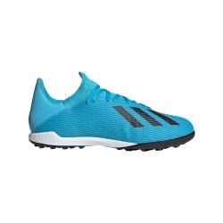 Ghete fotbal barbati Adidas X 19.3 TF Albastru