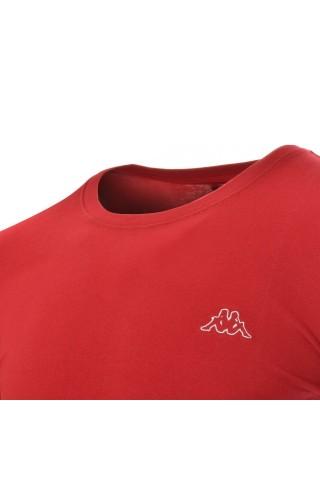 Tricou barbati Kappa Logo Sebastiani  Rosu