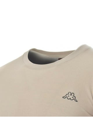 Tricou barbati Kappa Logo Sebastiani  Bej