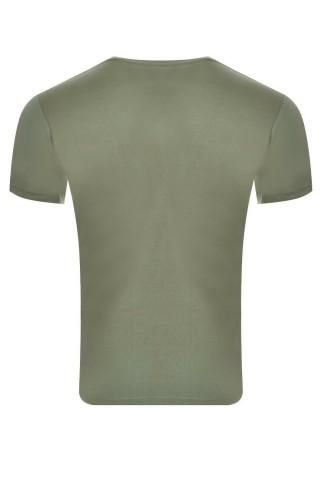 Tricou barbati Kappa Logo Sebastiani  Verde