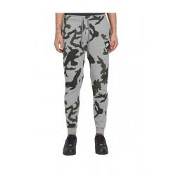 Pantaloni sport barbati Nike AOP Club Camo Gri