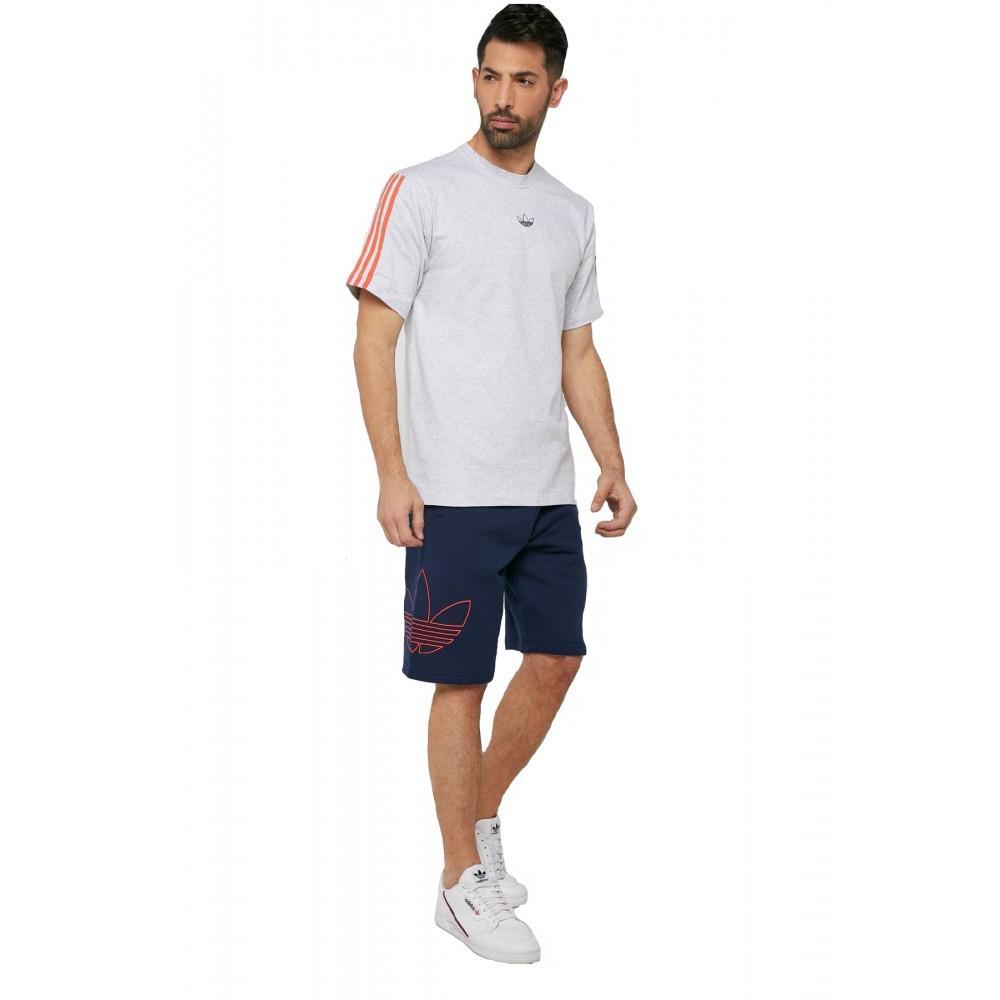 Pantaloni scurti barbati Adidas FT Outline Albastru