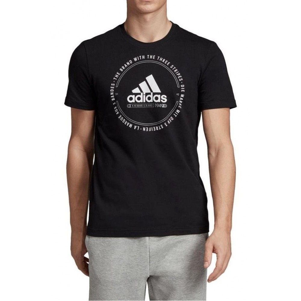 Tricou barbati Adidas MH Emblem Negru