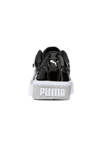 Tenisi femei Puma Cali Patent Negru