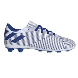 Ghete fotbal copii Adidas Nemeziz 19.5 FxG J Alb