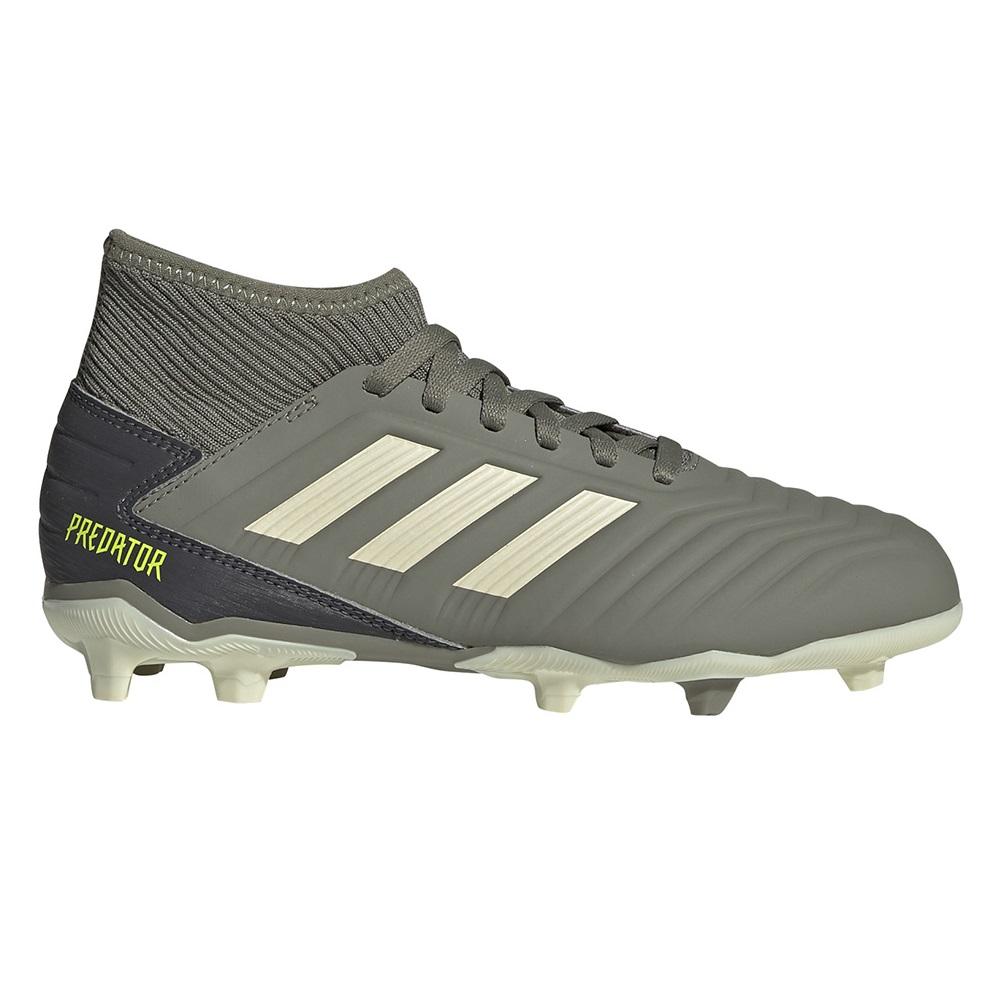 Ghete fotbal copii Adidas Predator 19.3 FG J Gri