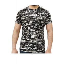 Tricou barbati Game Tehnical Apparel SS Tshirt Digital Urban Gri