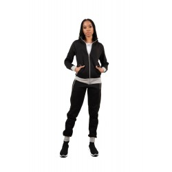Trening femei J5 Fashion Zip Up TS2437 Negru