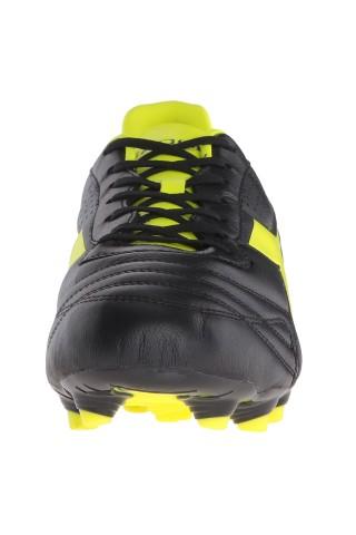 Ghete fotbal copii Diadora K-Plus MG14 FG Negru