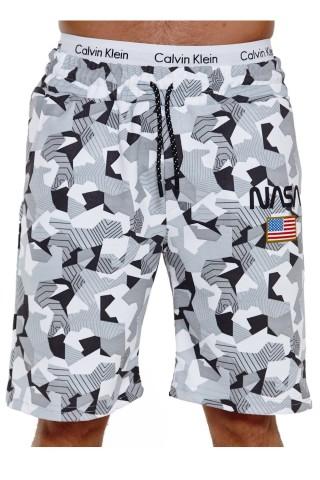 Pantaloni scurti barbati Redox SH3711 Camo Gri