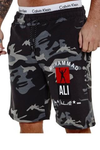 Pantaloni scurti barbati Redox SH3726 Camo Negru