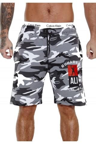 Pantaloni scurti barbati Redox SH3726 Camo Alb