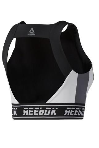 Bustiera sport femei Reebok Workout Ready Bra Negru