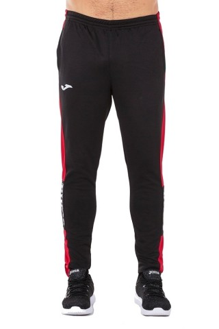 Pantaloni barbati Joma Long Pant Championship IV Negru Rosu