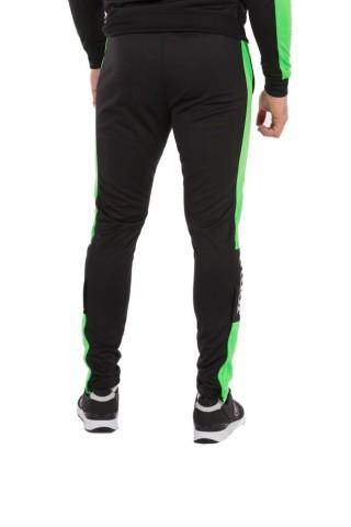 Pantaloni barbati Joma Long Pant Championship IV Negru Verde