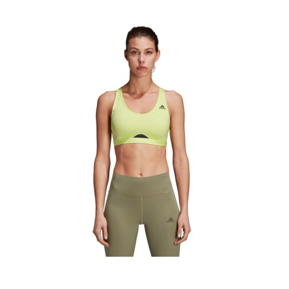 Bustiera femei Adidas Racer Back Verde