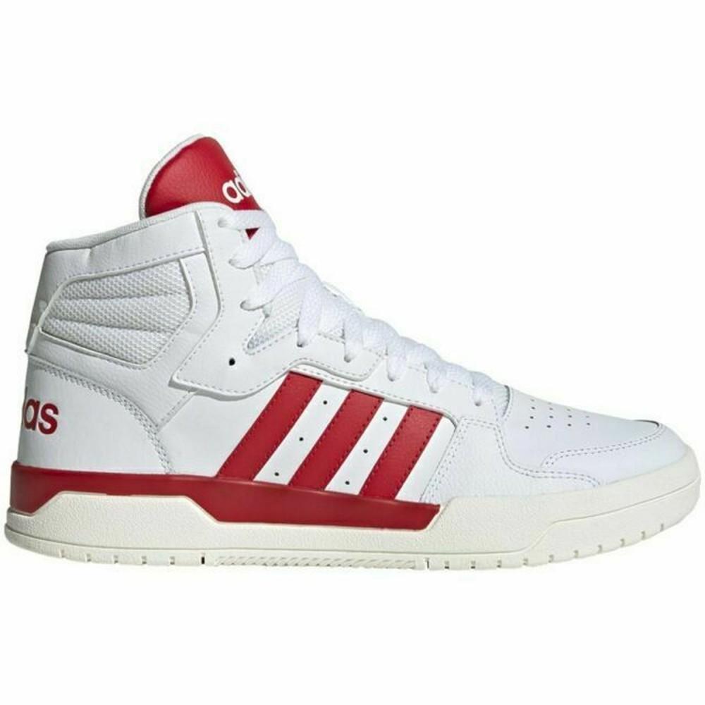Pantofi sport barbati Adidas Entrap Mid B Alb