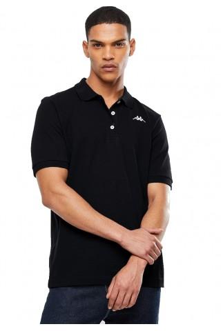 Tricou barbati  Kappa Polo Sharus Negru