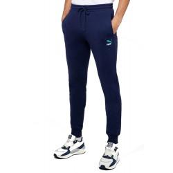Pantaloni sport barbati Puma Classsic Logo Bleumarin