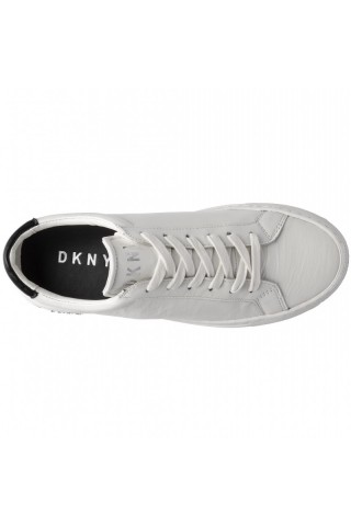Tenisi femei DKNY Court Leather Alb