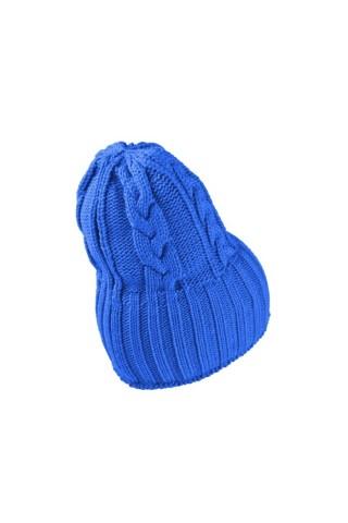Caciula crosetata femei Nike NSW Beanie Albastru