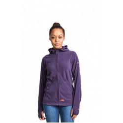 Jacheta polar femei Trespass Marathon Violet