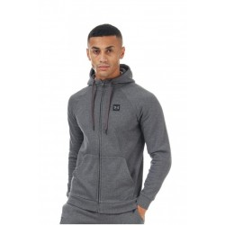 Hanorac Under Armour Rival Fleece FZ Hoodie Gri