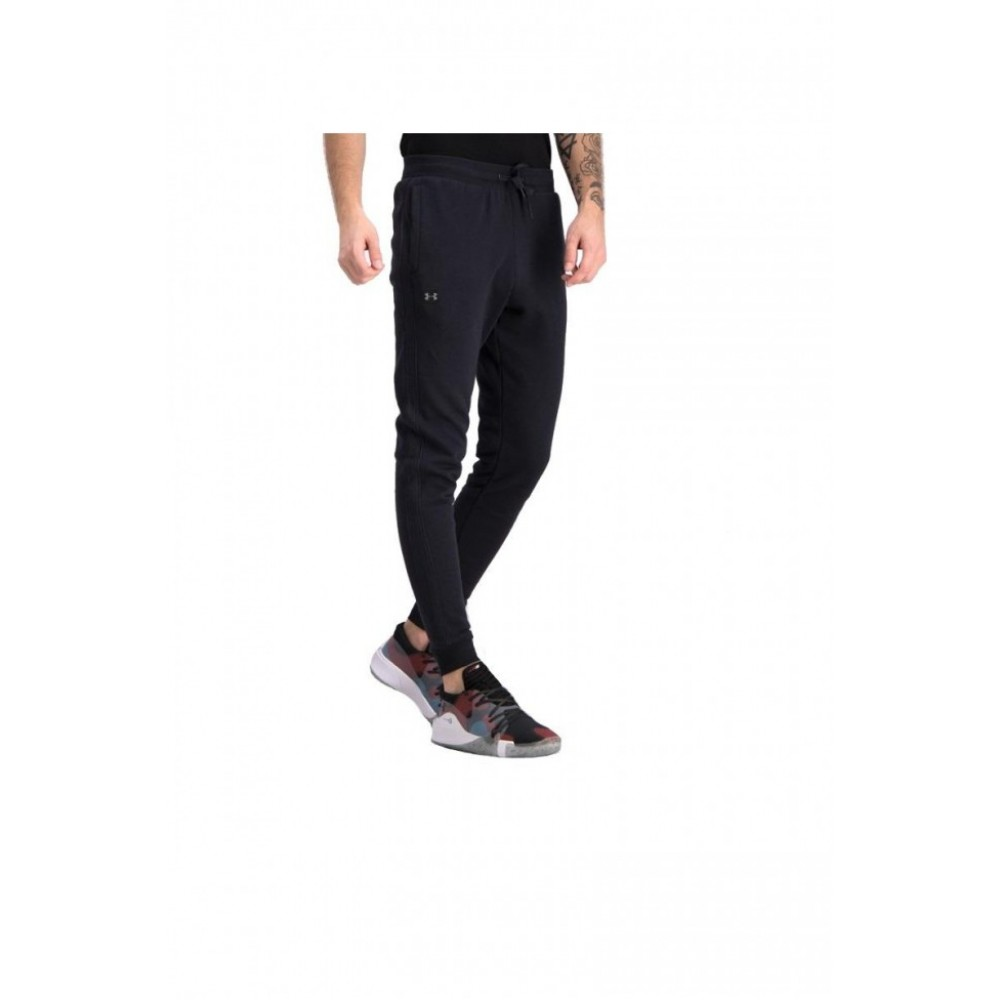 Pantaloni barbati Under Armour Rival Fleece Jogger Negru