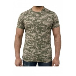 Tricou barbati Game Tehnical Apparel SS Tshirt Digital Desert Verde
