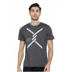 Tricou barbati Reebok Obstacle Gri