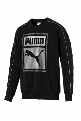 Hanorac barbati Puma Chains Sweat Negru