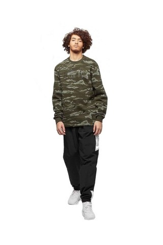 Hanorac barbati Puma Camo Fleece Verde