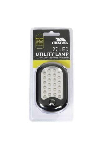 Lampa camping Trespass Klamp Negru