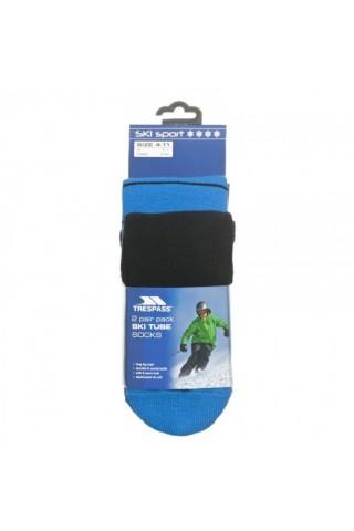 Set 2 sosete ski barbati Trespass Toppy Negru Albastru