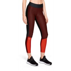 Colanti fitness femei  Under Armour HG Armour Jac Ankle Rosu